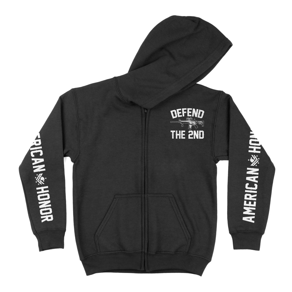 Men's Defend The 2nd Zipper Hoodie