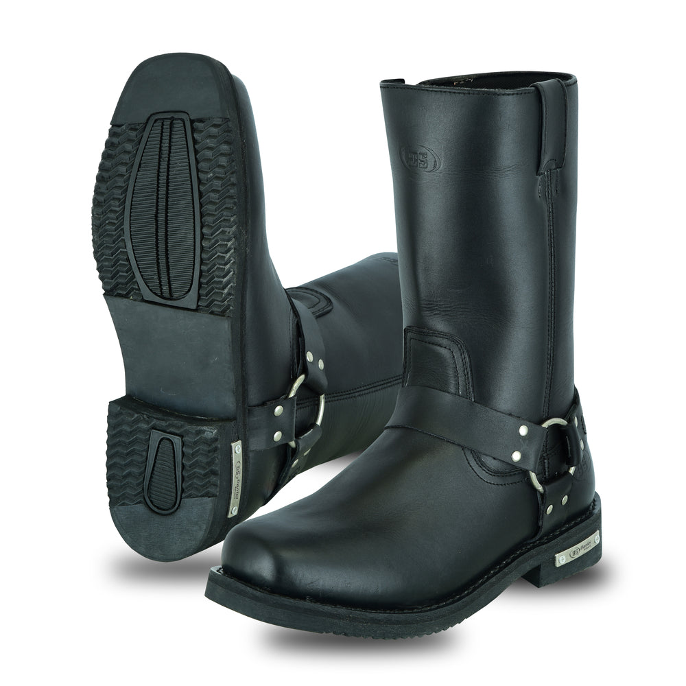 Men's Waterproof Harness Boots