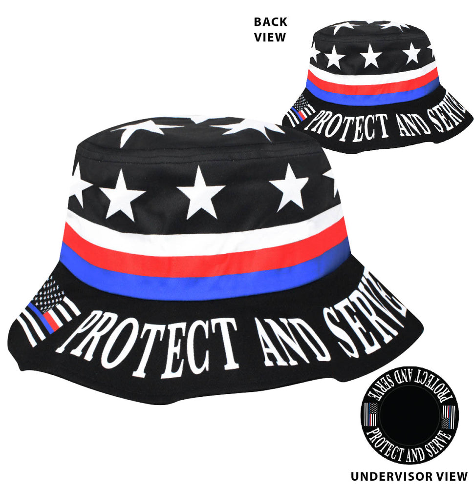 Protect & Serve Bucket Hat
