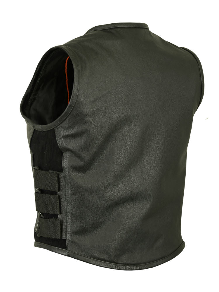 Women's Updated Premium Leather SWAT Style Vest
