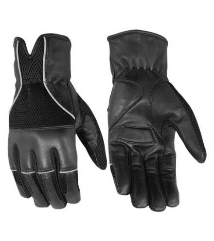 Men's Leather/Mesh Summer Glove