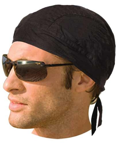 Headwrap w/ Liner - Black