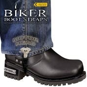 "Motor Head 6"" Boot Straps"