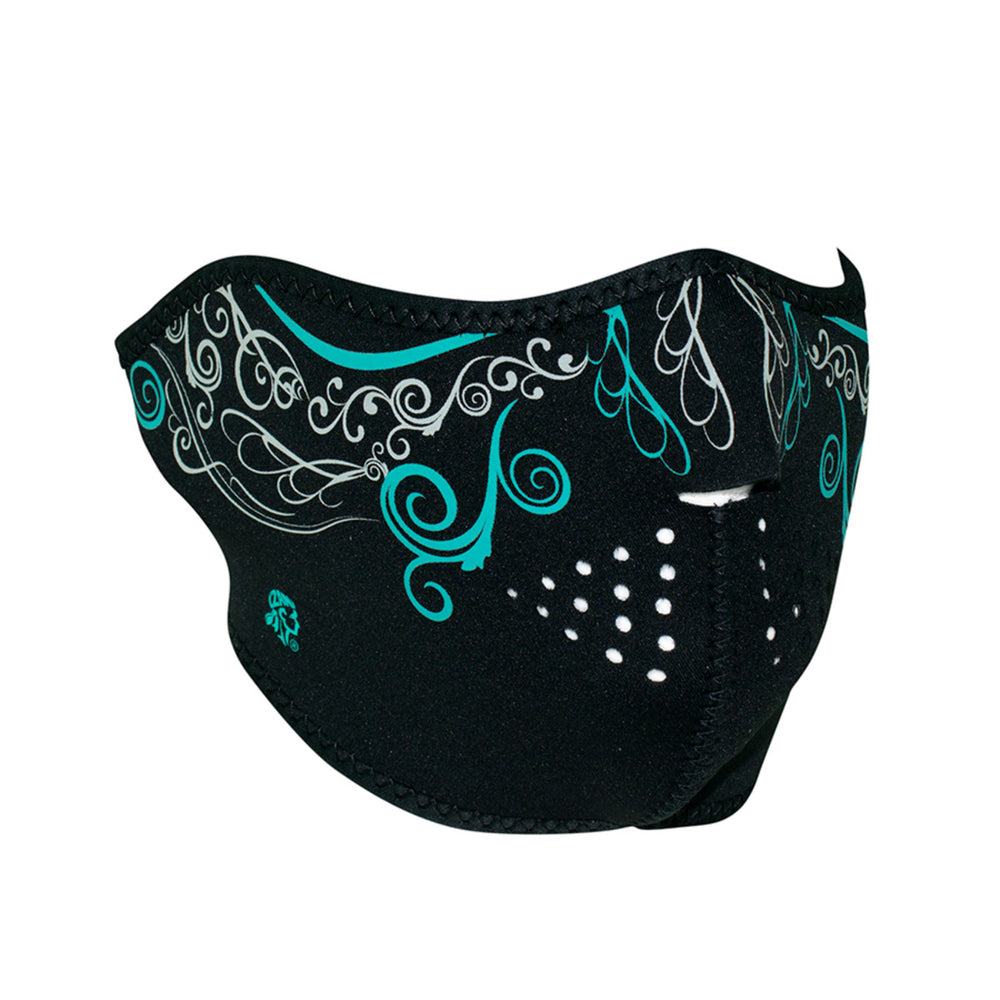 Half Neoprene Mask - Glow In The Dark Venetian