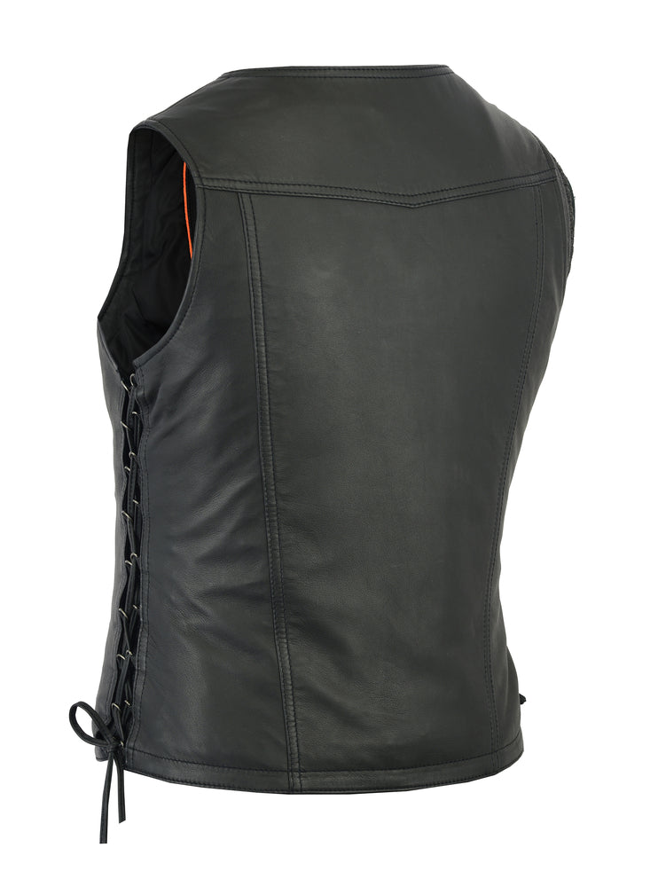 Women's Fashionable Leather Lightweight Vest