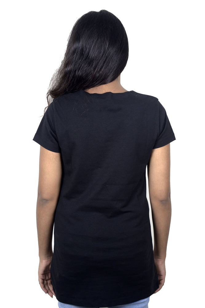Women's Shirt w/ Cut Front