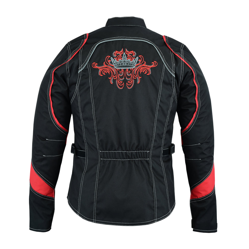 Women's Embroidered Crown Riding Jacket