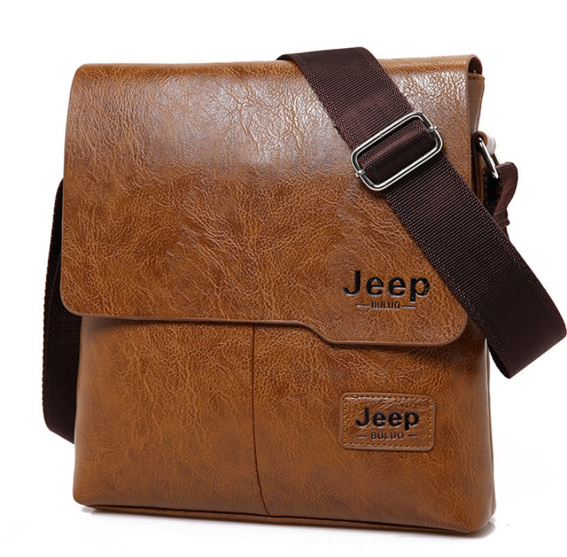 Men JEEP BULUO New Fashion Cross Body Shoulder Business Bags