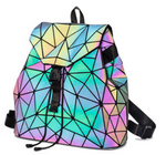 Korean Style Holographic Sequin Female Backpack