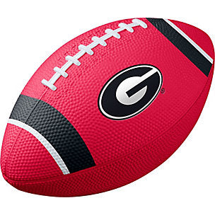 UGA Nike Training Rubber Football