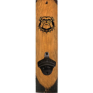 UGA Bulldog Wallmount Bottle Opener