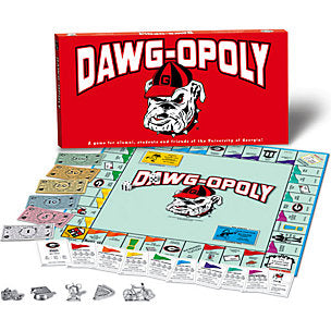 Dawgopoly Board Game UGA