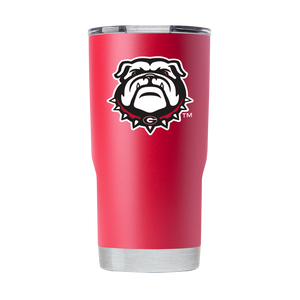 UGA 20oz New Bulldog Stainless Steel Sidekick Tumbler - Red