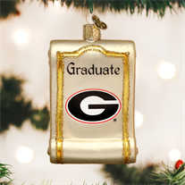 University of Georgia Diploma Ornament
