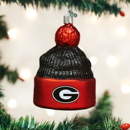 University of Georgia Beanie Ornament