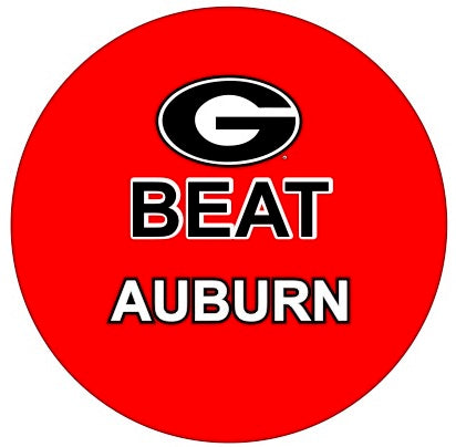 Beat Auburn Button