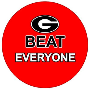 Georgia Beat Everyone Button
