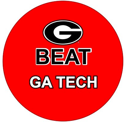 Beat Georgia Tech Button