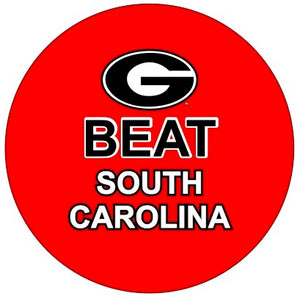 Beat South Carolina Button