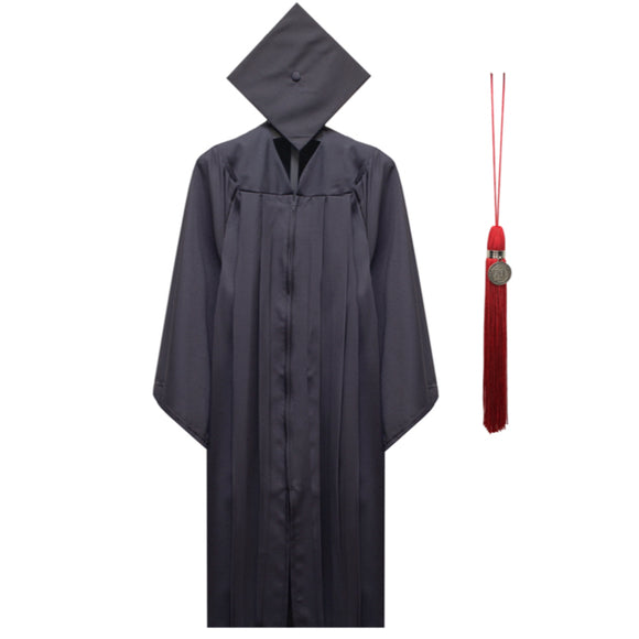 UGA Graduation Cap, Gown and Tassel