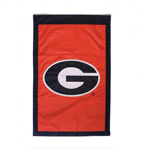 UGA House Flag Embroidered with G