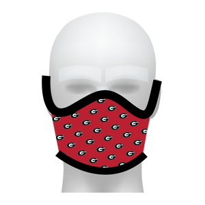 UGA Face Mask - All Over Print