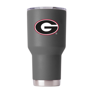 UGA 30oz G Stainless Steel Sidekick Tumbler - Charcoal