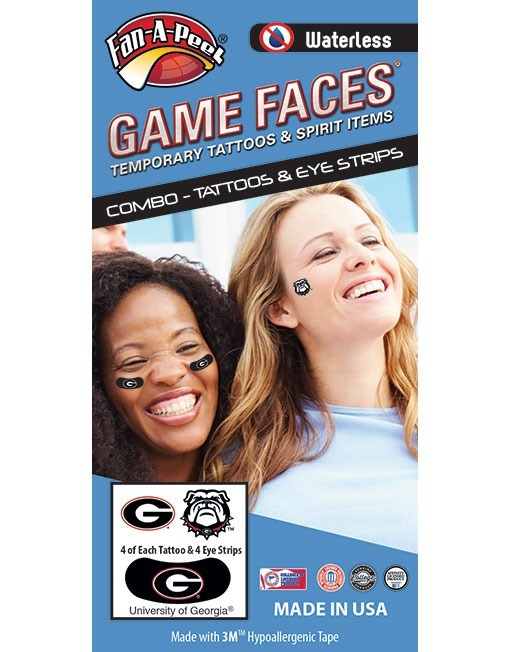 Georgia Spirit 4 Pack Combo Tattoos & Eye Strips