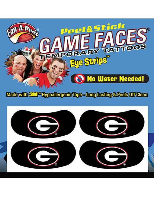 Power G Eye Black Peel & Stick Tattoo