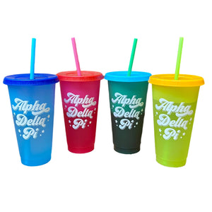 Sorority Color Changing Tumbler