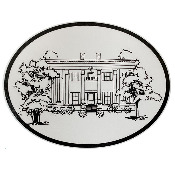 UGA Sorority House Decal