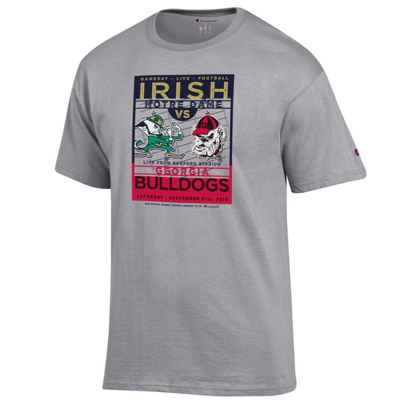 UGA Game Day Live T-Shirt Georgia vs. Notre Dame