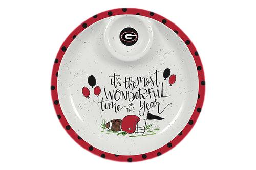 UGA Melamine Chip and Dip