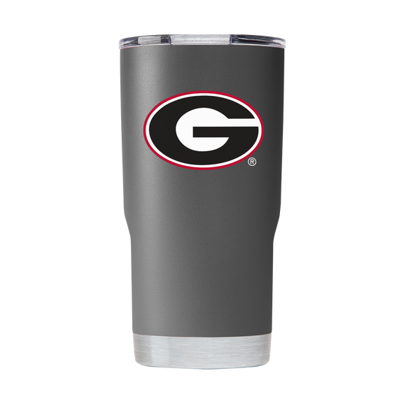 UGA 20oz Georgia G Stainless Steel Sidekick Tumbler - Charcoal