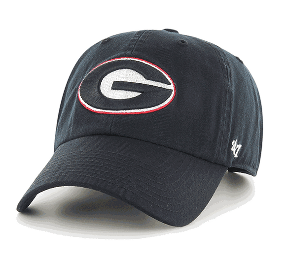 UGA 47 Brand Youth Cleanup Hat - Black