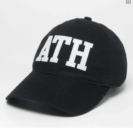 ATH Legacy Relaxed Twill EZA Hat - Black