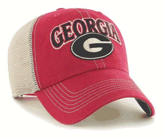 UGA 47 Brand Athens Cleanup Trucker Hat