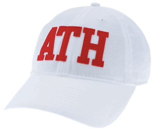 ATH Legacy Relaxed Twill EZA Hat - White