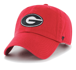UGA 47 Brand Cleanup Hat - Red