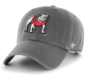 UGA 47 Brand Bulldog Cleanup - Charcoal