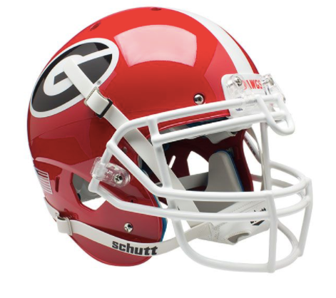 University of Georgia Bulldogs Schutt Replica Helmet