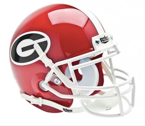 University of Georgia Bulldogs Schutt Mini Helmet