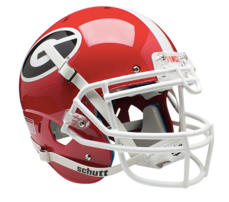 University of Georgia Bulldogs Schutt Authentic Helmet