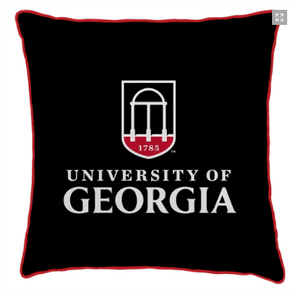 University of Georgia Spirit Pillow