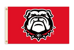 University of Georgia Bulldogs Flag 3x5