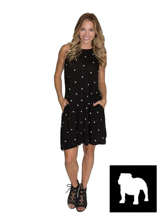 Georgia Bulldogs Ladies Dress
