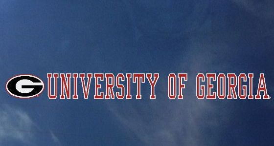 University of Georgia UGA Decal