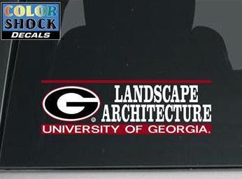 UGA Decal Landscape Architecture