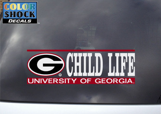 UGA Decal Child Life