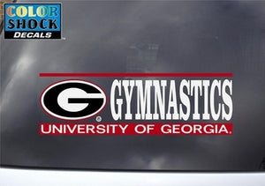 UGA Gymnastics Decal